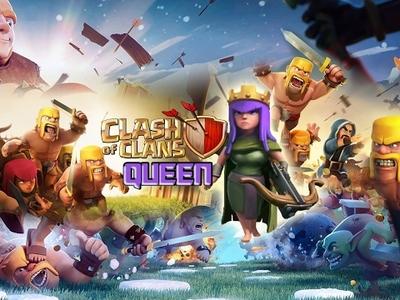 Clash of Clans Queen