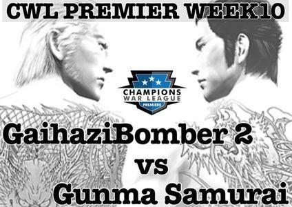 CWLP week10 vs Gunma Samurai