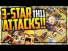 MANY Ways to Victory! Clash of Clans Town Hall 11 3-Star Att