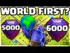 A World First? Clash of Clans 6000 Trophies in LESS Than 3 D