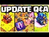 UPDATE Q&A! Is There MORE to the Clash of Clans Update /