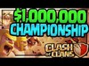 $1,000,000 Playing Clash of Clans! The Clash of Clans World