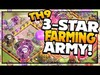 CRUSHING Higher Town Halls - Clash of Clans 3-Star Farming A...