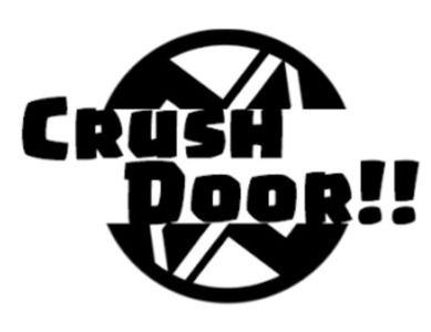 CRUSH  DOOR!! 参戦¥(´°v°)/んぴッ